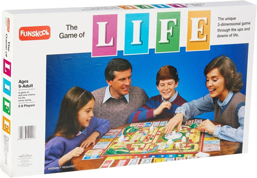 The Game of Life boardgame