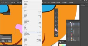 Pathfinder Tool in Adobe Illustrator