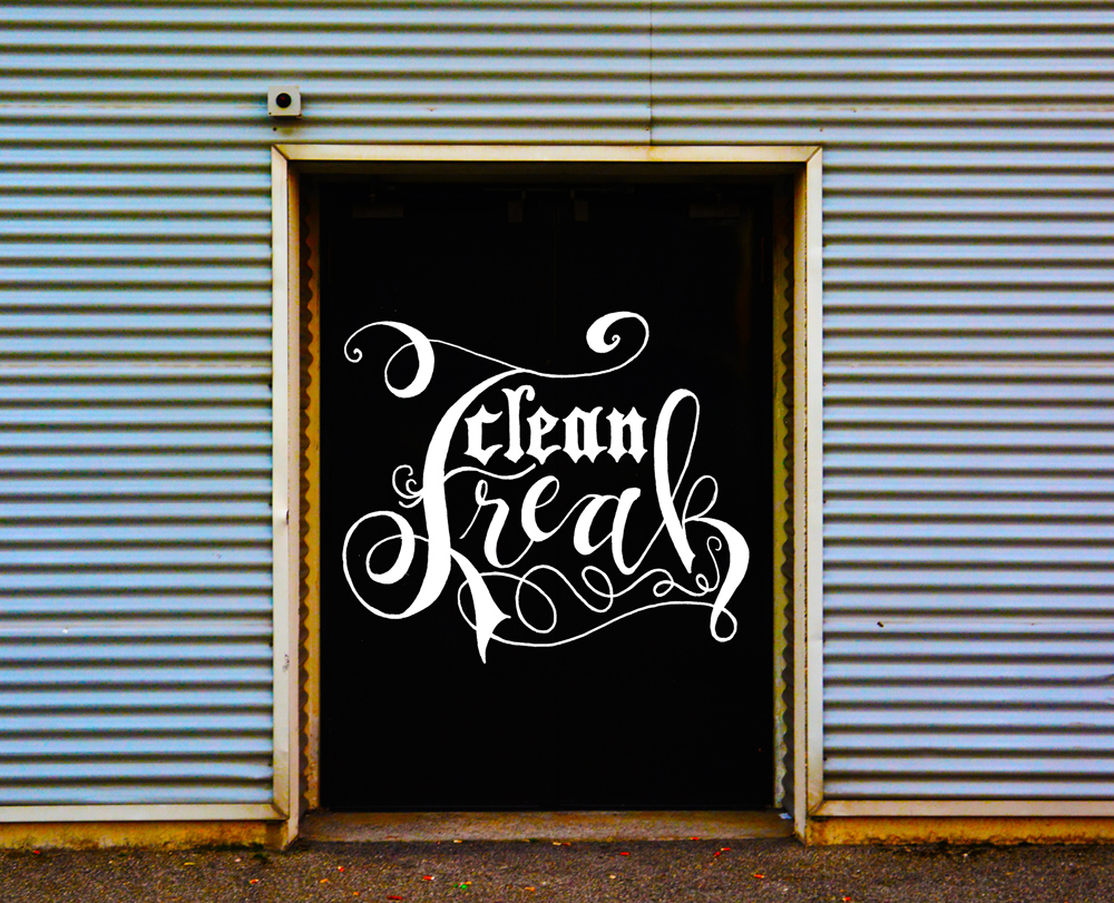 Zirkus Design | Hand Lettering : clean Freak