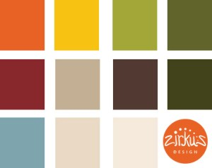 Zirkus Design | Cocinitas Retro Kitchen Design Palette