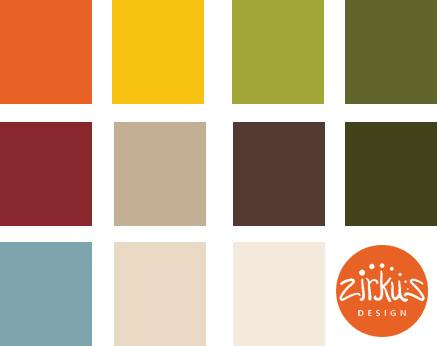 Zirkus Design   Cocinitas Retro Kitchen Design Palette