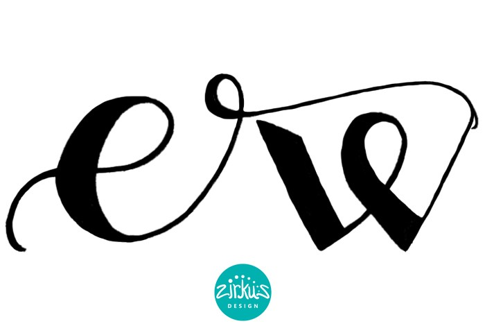 Hand Lettering: Emma Woodhouse Logo