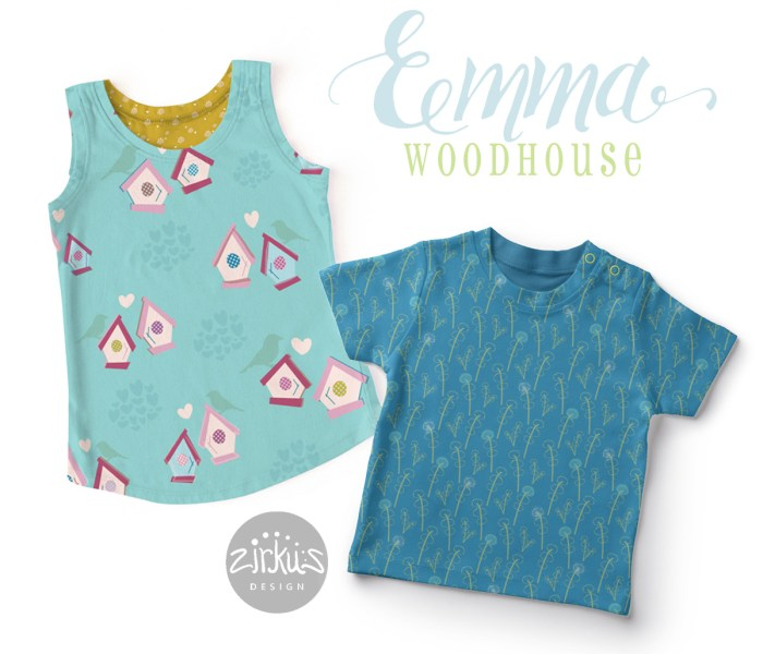 New Pattern Collection: Emma Woodhouse