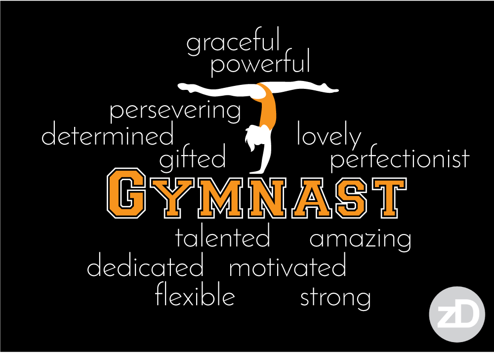 Zirkus Design | Proud Gymnastics MOM Biggest Fan T-Shirt Design BACK