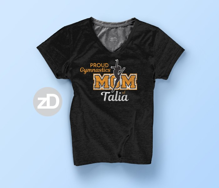 Gymnastics T-Shirt for YOUR Athlete's Biggest Fan