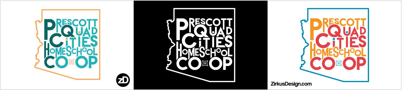 Zirkus Design | Homeschool Co-op Logo Design Fun Text Mashup
