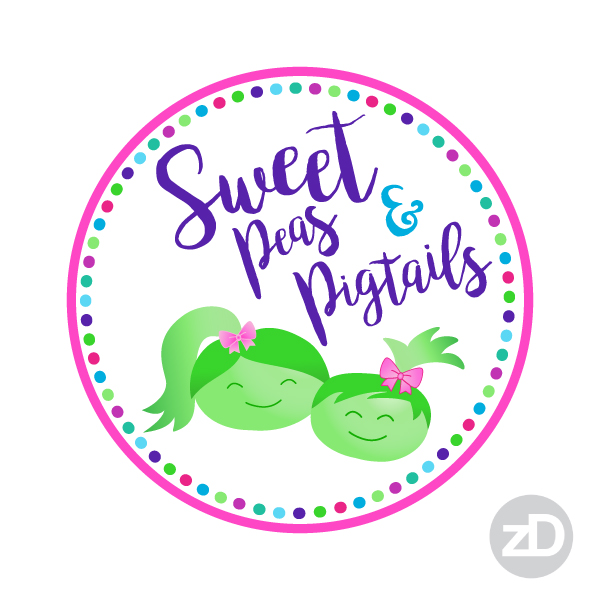 Zirkus Design | Teachers Pay Teachers Store Promo Package -Sweet Peas and Pigtails Logo Choice 3
