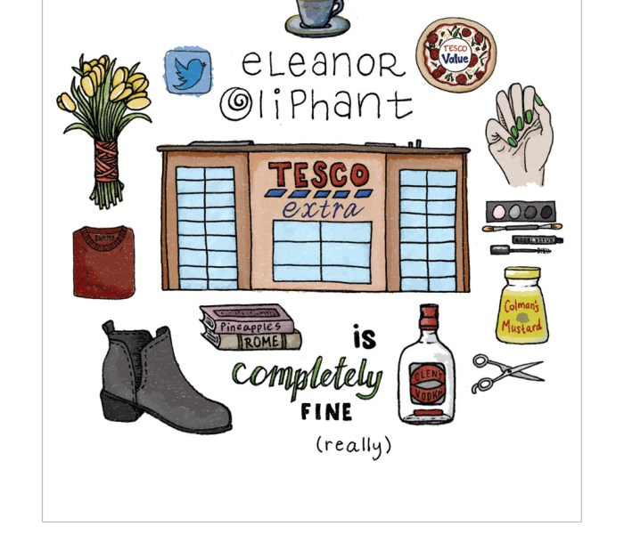 FREE Novel Art Print: Eleanor Oliphant is Completely Fine