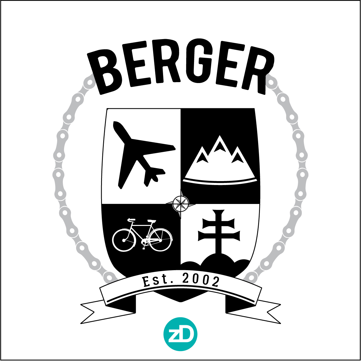 Zirkus Design | Modern Family Crest Design + Inspiration : Base Vector Design
