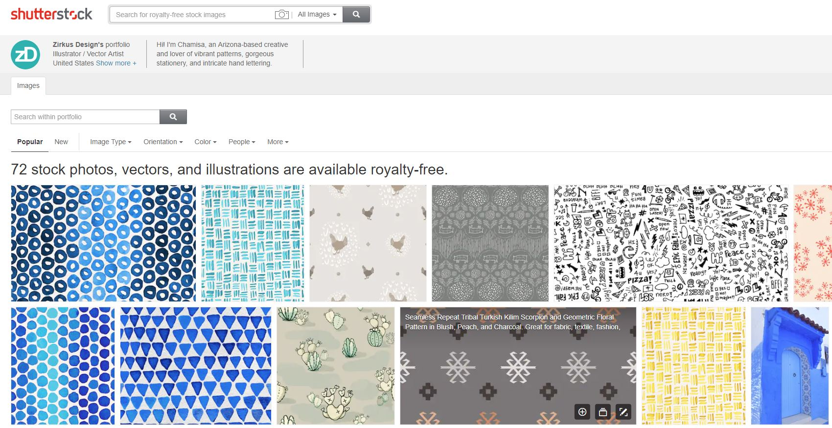 Zirkus Design | Shutterstock Shop - Patterns, Vectors, and Photography