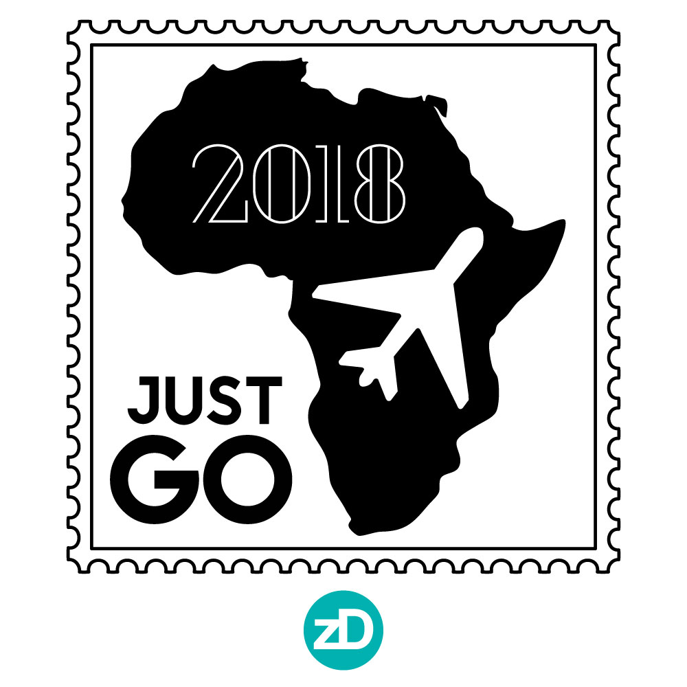 Zirkus Design | Stick 'Em Up: Sticker Design for a Good Cause - Africa Travel Airplane
