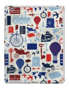 Zirkus Design | All Aboard to Explore Our Marvelous World - iPad Case