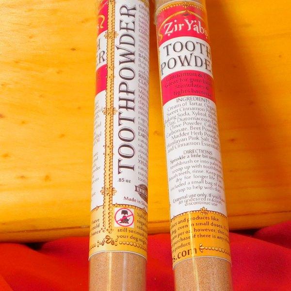 Cinnamon, Clove Tooth Powder