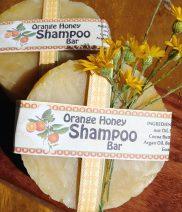 Orange Honey Shampoo Bar Better for Environment
