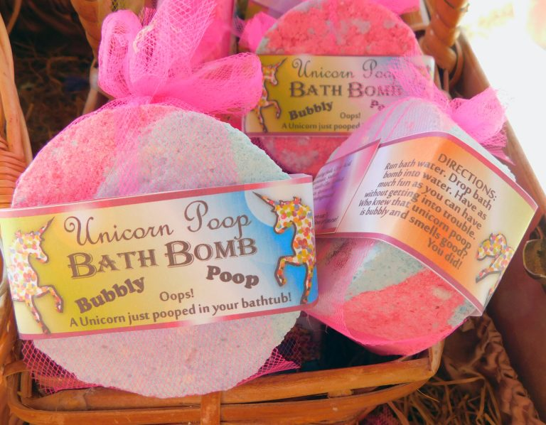 Unicorn Poop Bubbly Bath Bomb