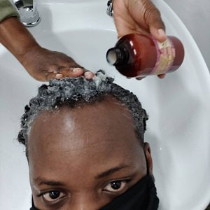 Yucca Shampoo Used at Salon