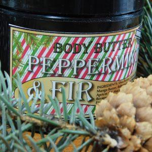 Peppermint and Fir Body Butter