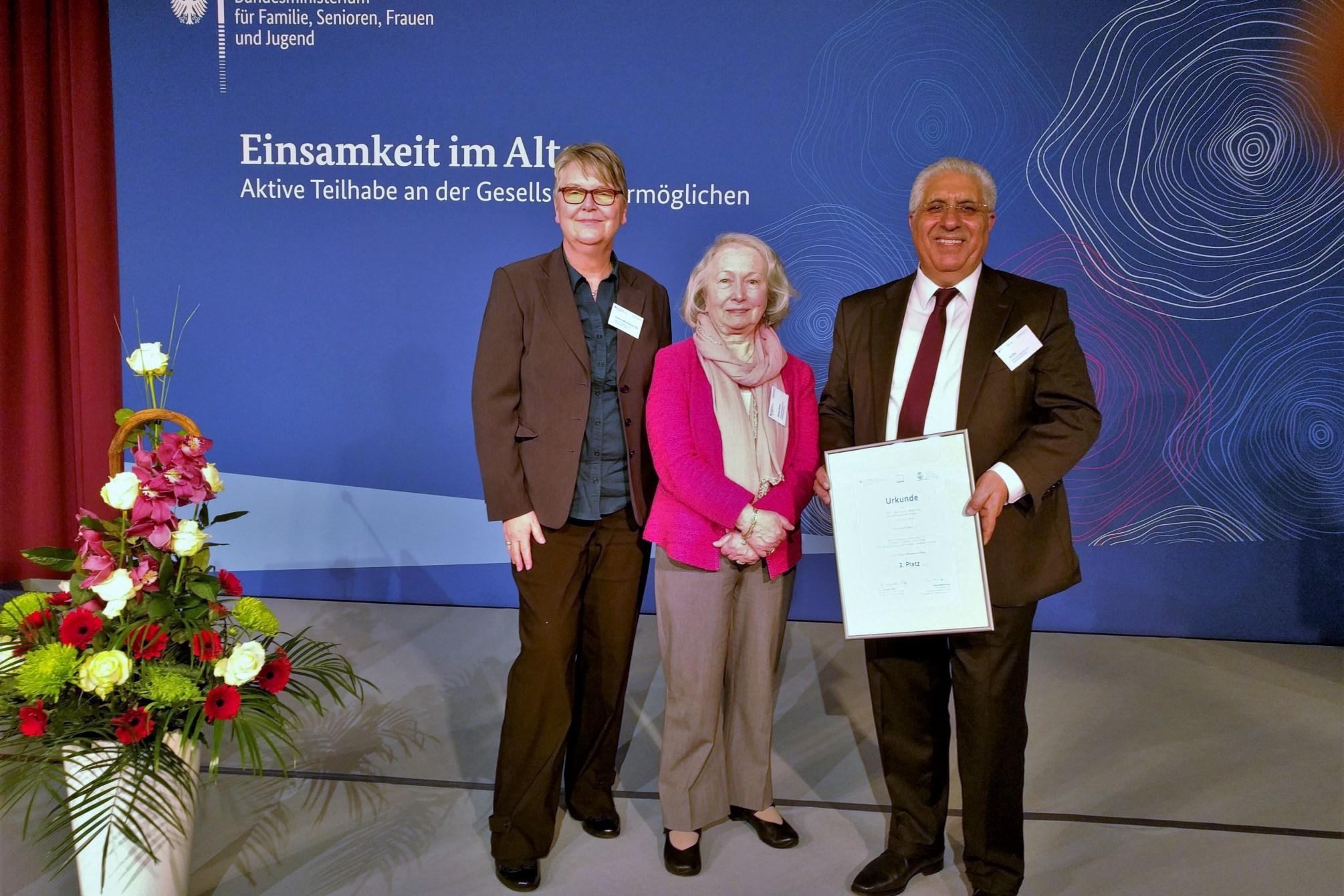 ZIS Delegation - Gudrun Münchmeyer-Elis, Zeynep Sümer, Ali Elis (c) Gudrun Münchmeyer-Elis