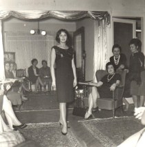 Modenschau- Istanbul 1961, Özdal Dinçel (© privat)