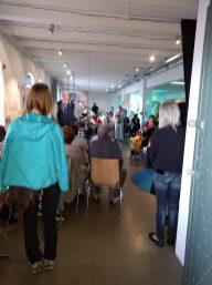 """Ausstellungseröffnung """"Erinnerungsort Migration"""", Hafenmuseum 20.Mai 2017(© ZIS)"""