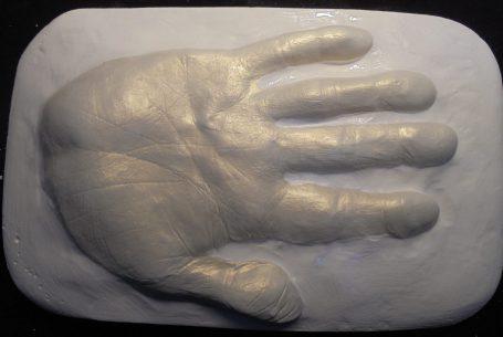 Handabdruck, Hasan Kaya (© ZIS)