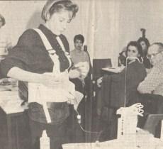 Schwesternlehrgang AWO 1990, Sevgi Balcı (© prıvat)
