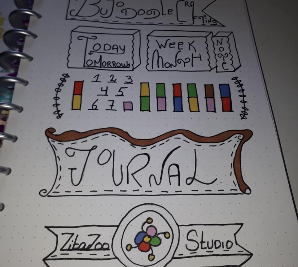 Doodle Bujo Crafting by ZitaZoo