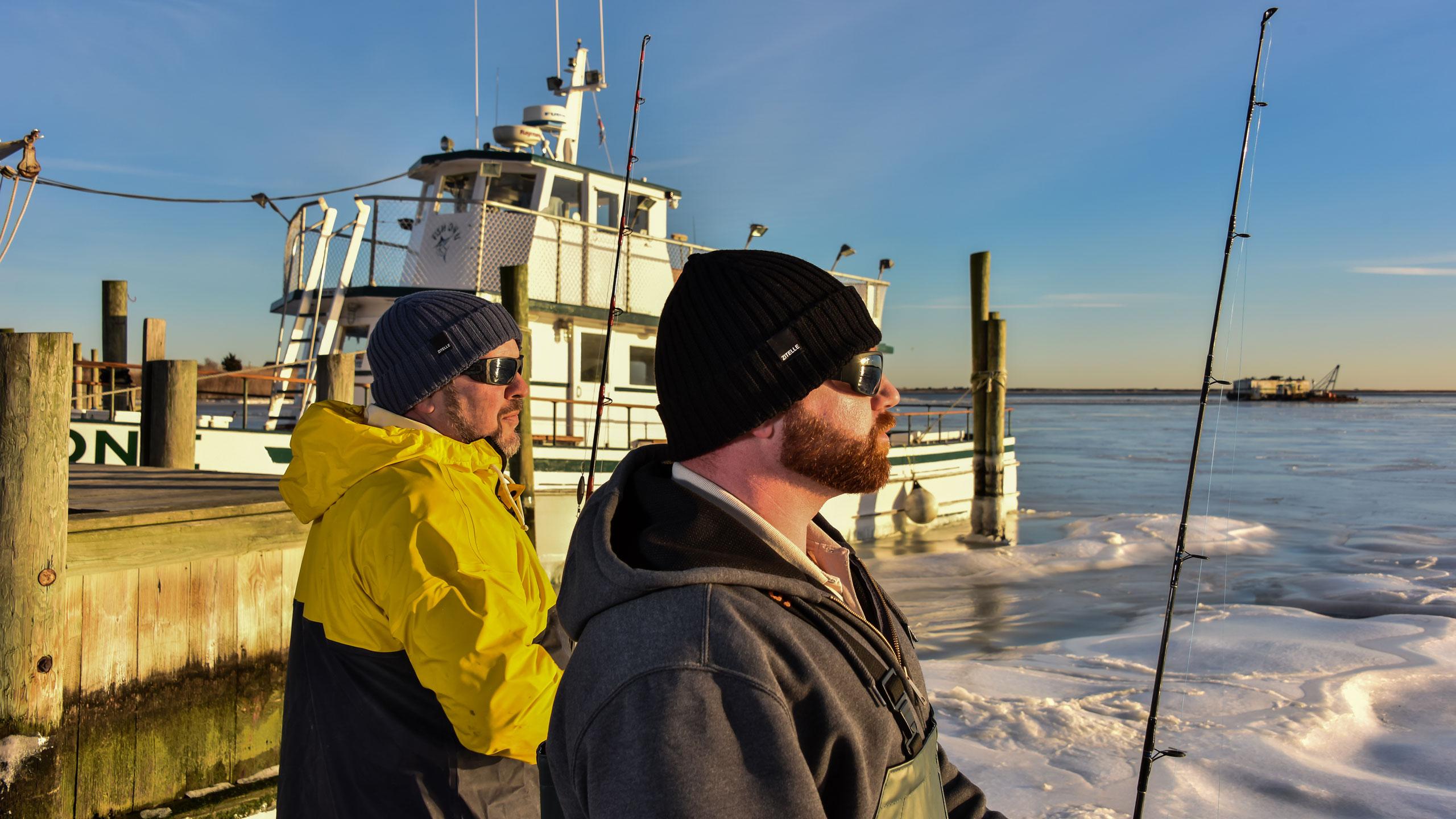 men's wool hats - fishing boat