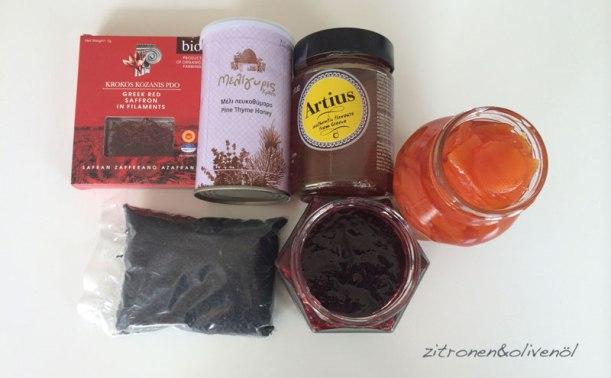 Honig und Süßes aus Griechenland Blog Zitronen und Olivenöl