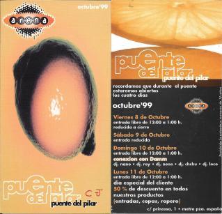 Arena - Puente del Pilar Octubre 1999