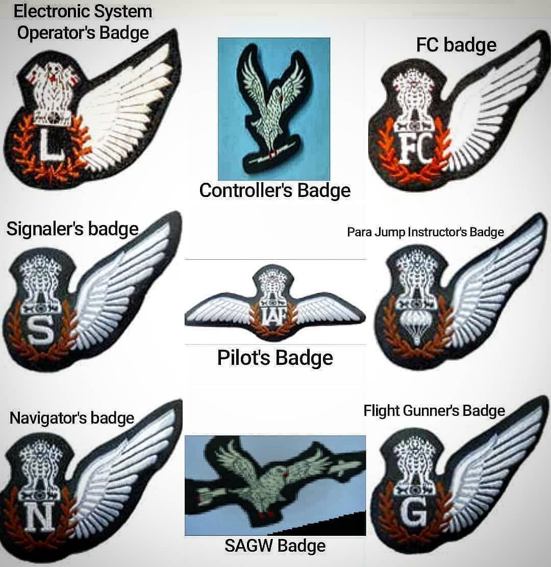 IAF badges