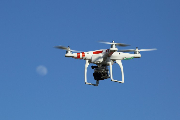 Drones in Andaman and Nicobar islands