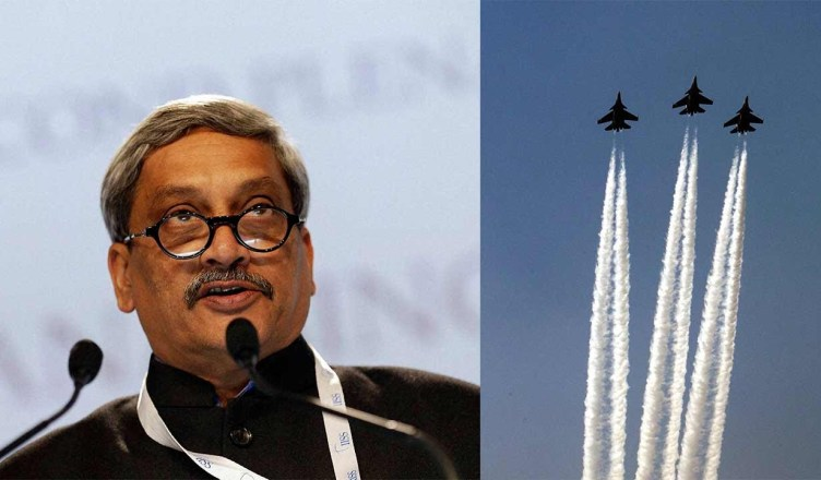 Mannohar Parrikar on planer Crash