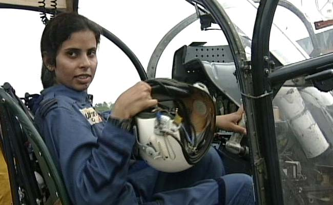 Flight Lieutenant Gunjan Saxena