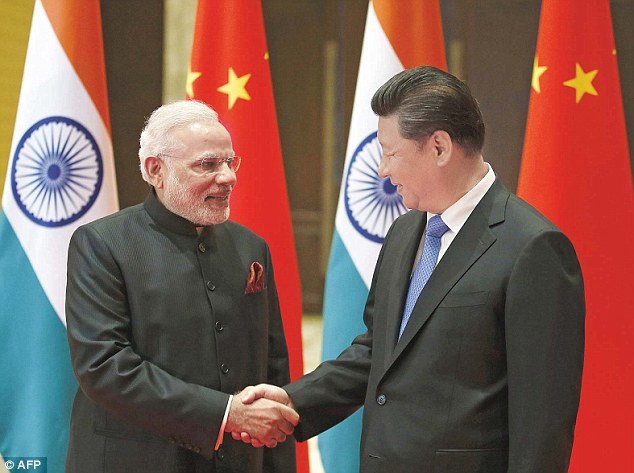 PM Modi and Chinese President Xi Jinping, who met in May 2016
