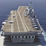 "Navy aims to induct first Indigenous Aircraft Carrier ""INS Vikrant"" by 2018"