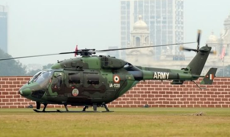 """ALH Dhruv Transported the """"Red Devils"""" Across the LoC"""