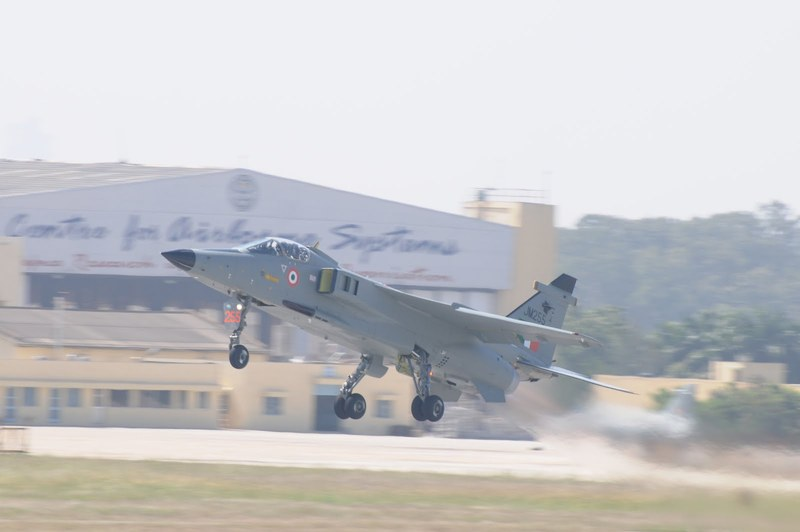 Jaguar DARIN III Taking off