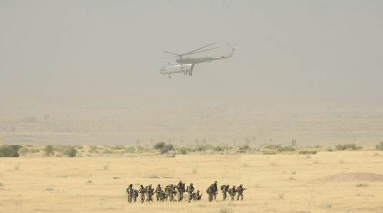 Attack and Armed helicopters were also employed in close support of the Heliborne column.