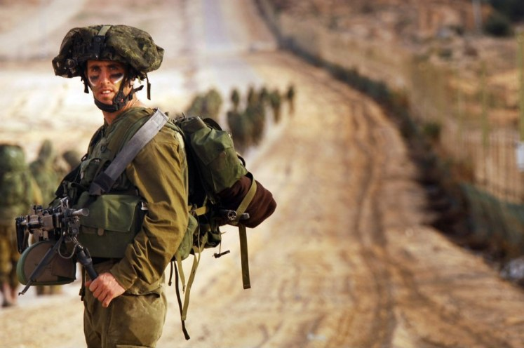 Israeli troops are battle-hardened soldiers