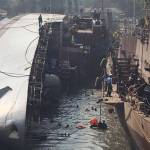 Two Navy men killed, 14 hurt as INS Betwa tips over during undocking