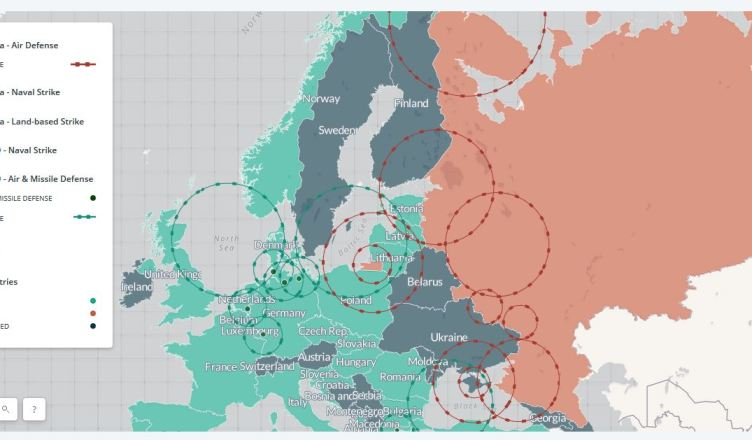 Interactive Missile Map Reveals How Messy A NATORussia War Would - Sweden map interactive