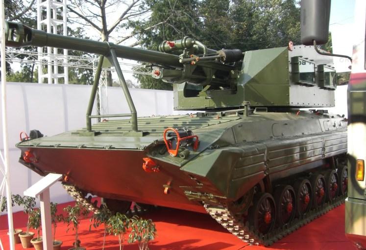 indian army artillery photos