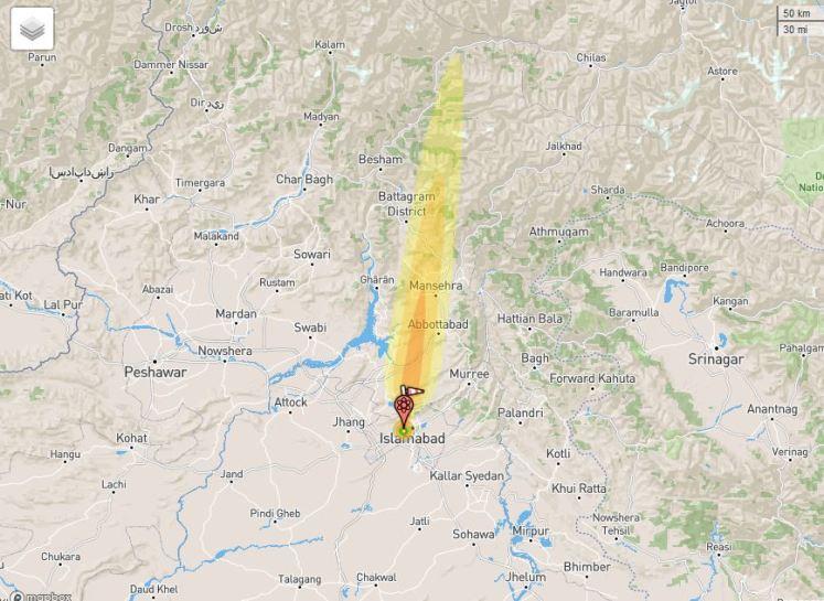 Nuclear Explosion pakistan