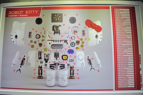 ROBOT KITTY 組裝圖 1