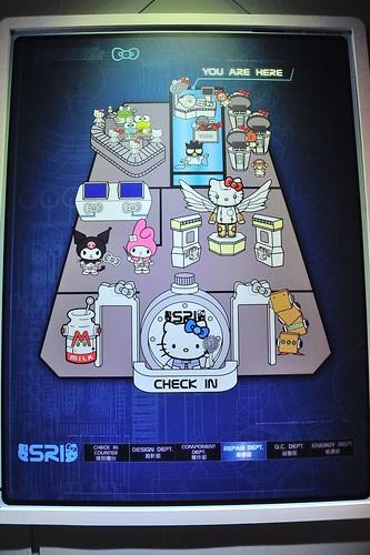 Robot Kitty 未來樂園 平面圖