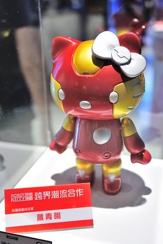 ROBOT KITTY未來樂園 跨界潮流合作-蕭青陽