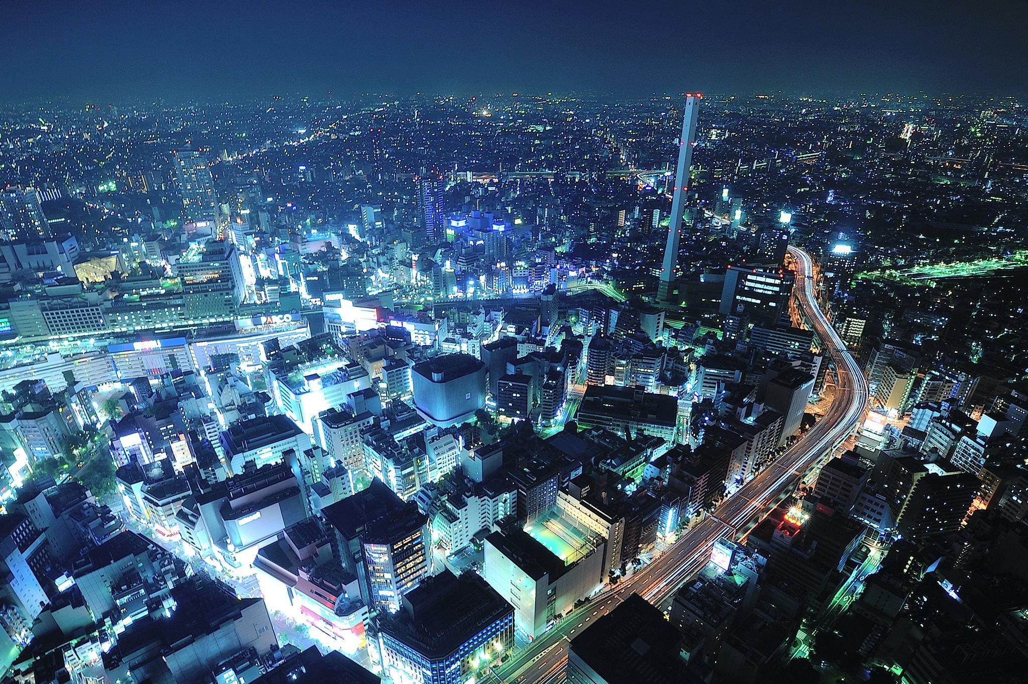 美到不像話的「日本東京池袋夜景」池袋 Sunshine City 太陽城 Sky Circus 陽光60展望台