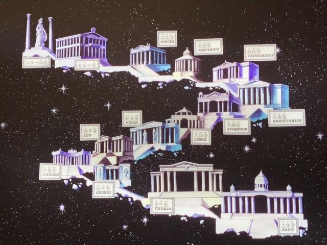前往到雅典娜神殿前需要通過黃金十二宮的守衛者,相信大家對於這張圖跟這故事情節都非常的熟悉。