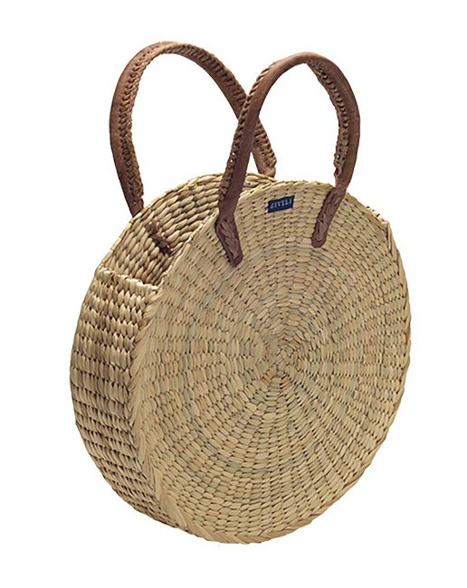 round tote bag